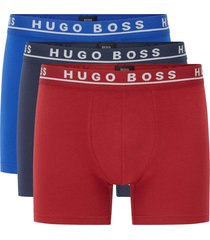 boss three-pack stretch cotton boxers 50332508