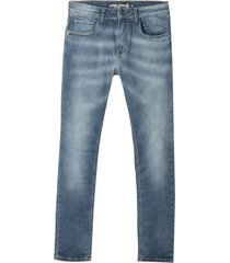 calça john john super skinny rosário jeans azul masculina (jeans medio, 50)