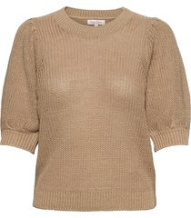 celenapw pu t-shirts & tops knitted t-shirts/tops beige part two