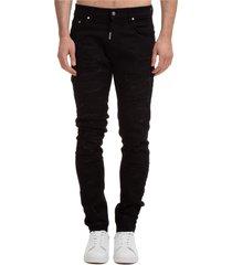 jeans uomo shredded