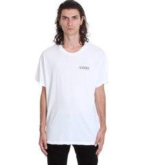 amiri bandana tree t-shirt in white cotton