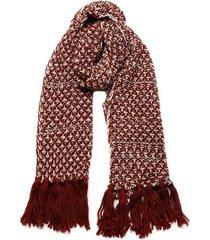 bufanda melange rojo humana