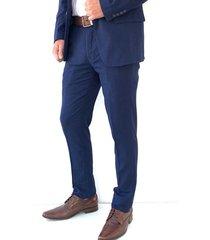 traje azul oscar de la renta a9sut09-nv