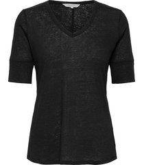 curlypw ts t-shirts & tops short-sleeved zwart part two