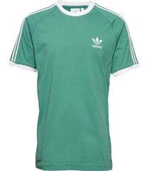 3-stripes tee t-shirts short-sleeved grön adidas originals