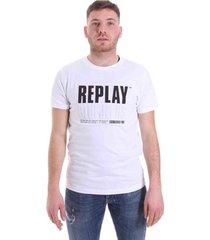 t-shirt korte mouw replay m3413 .000.22880