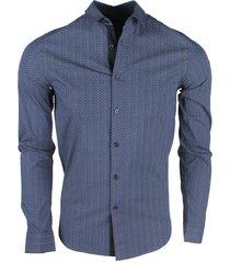 deeluxe heren overhemd shinobi -
