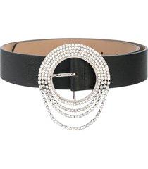b-low the belt crystal-embellished belt - black
