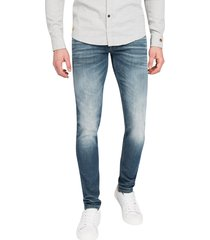 riser slim cast iron jeans ctr201 blauw