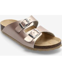 biabetricia buckle sandal shoes summer shoes flat sandals guld bianco