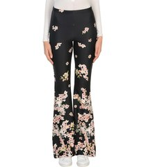 black coral casual pants