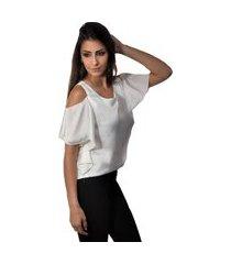 regata banca fashion casual chique off white