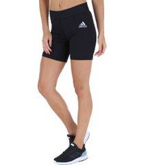 bermuda adidas alphaskin sport tigth st7 - feminina - preto