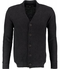garcia katoenen vest raw black
