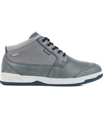 zapatilla impermeable casual key element gris lippi