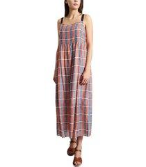 renata chequered dress