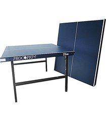 mesa de ping pong / tênis de mesa procópio 25mm mdp bases de ferro