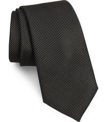men's nordstrom hailey solid silk tie