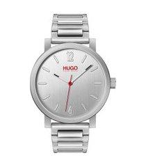 relógio hugo boss masculino aço - 1530117