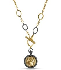 2028 toggle cameo necklace