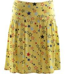 korte rok met gele sterren