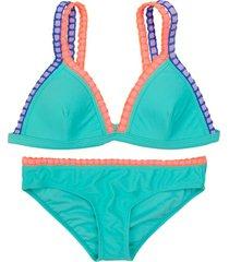 bikini triángulo turquesa h2o wear