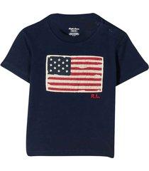 ralph lauren blue t-shirt with embroidered logo