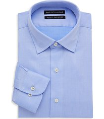 classic-fit patterned dress shirt