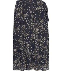 katrina skirt knälång kjol svart soaked in luxury