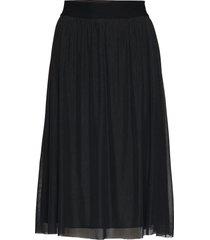 thora violet skirt knälång kjol svart bruuns bazaar