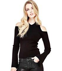 sweter z odkrytymi ramionami
