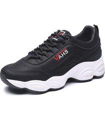 zapatillas de deporte de mujer invierno zapatos felpa cálidos plataforma