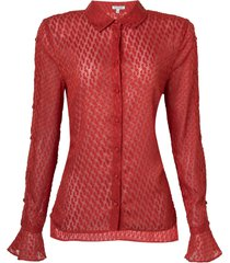 camisa grazi brick (brick, 50)
