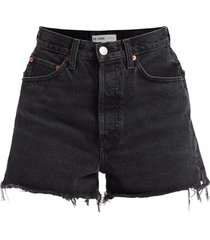 50's cutoff denim shorts