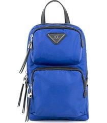 mochila azul xl dan