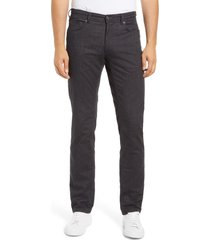 men's brax cooper fancy five-pocket pants, size 40 x 34 - grey