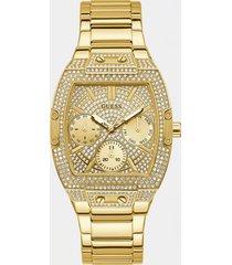 zegarek wielofunkcyjny z kryształkami