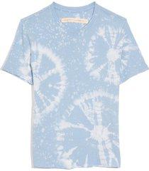 boy tee in blue constellation tie dye