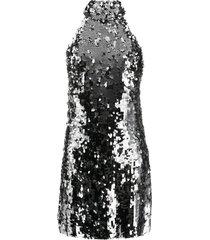 silver sequin gemma dress