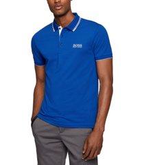 boss men's active-stretch golf polo shirt