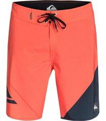 pantaloneta new wave 20 m hombre quiksilver aqybs03164nms6 naranja