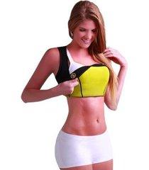 camiseta modeladora redutora de medidas neoprene feminina - feminino
