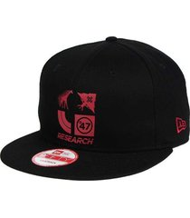 lrg lifted research group 4 icons new era 9fifty blk adjustable snapback cap hat