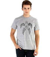 camiseta ouroboros manga curta tartaruga maori