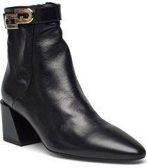furla chain shoes boots ankle boots ankle boot - heel svart furla