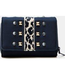 medium wallet beads - brown - u