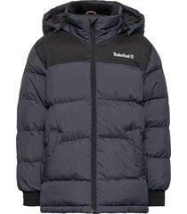 puffer jacket gevoerd jack grijs timberland