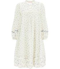 see by chloé cotton voile dress prairie motif