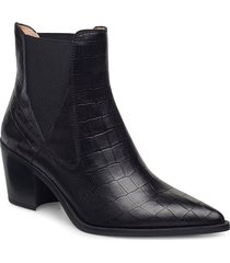 munis_mal shoes boots ankle boots ankle boot - heel svart unisa