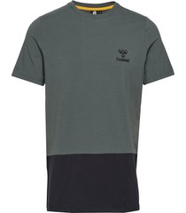 hmlrolf t-shirt s/s t-shirts short-sleeved grön hummel
